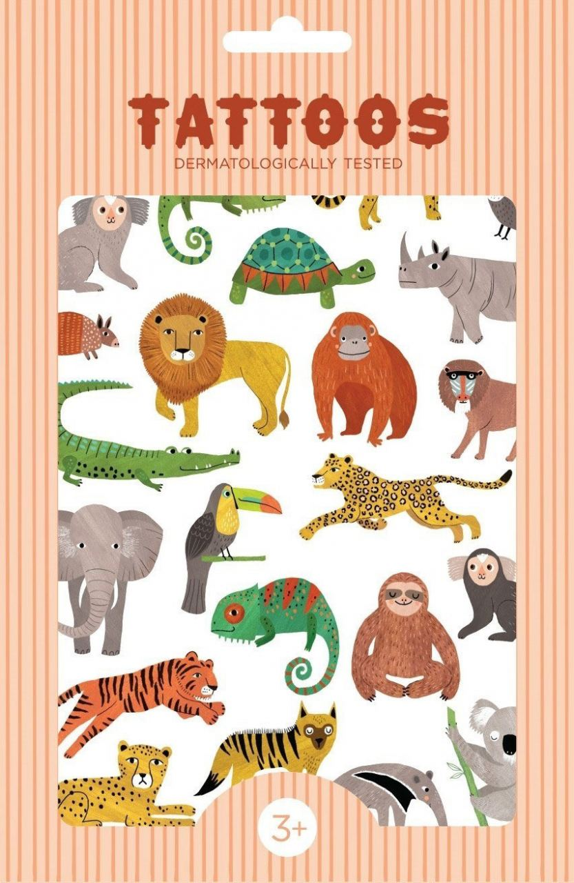 Tattoos Jungle Animals