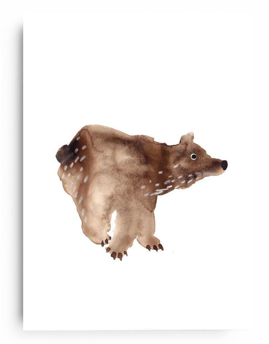 Poster Bär (Din A4)