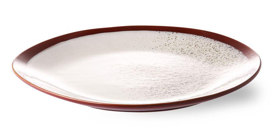 70's Ceramics Teller Gross Frost