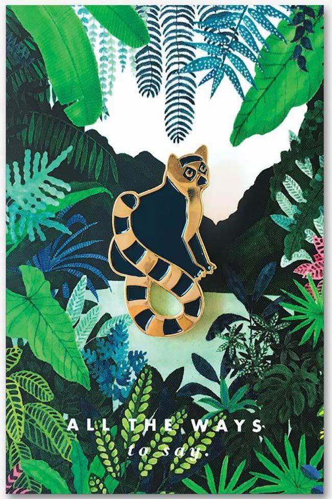 Lemur Pin