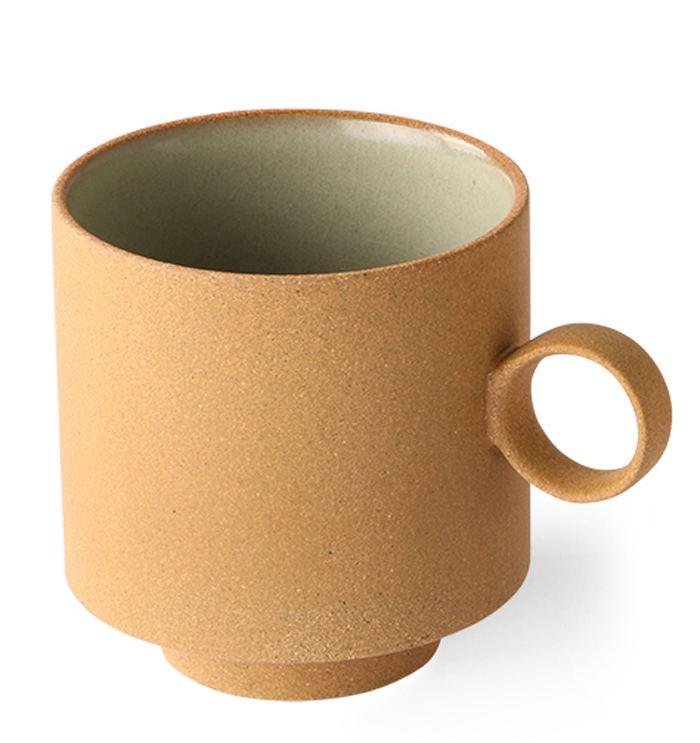 Bold & Basic Mug Ochre