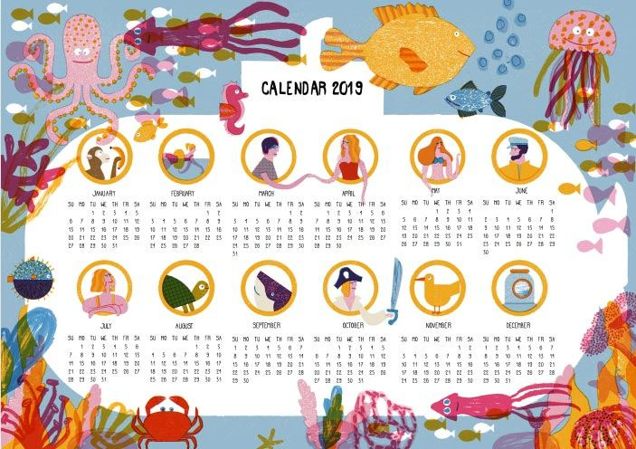 Barbara Dziadosz Kalendar 2019