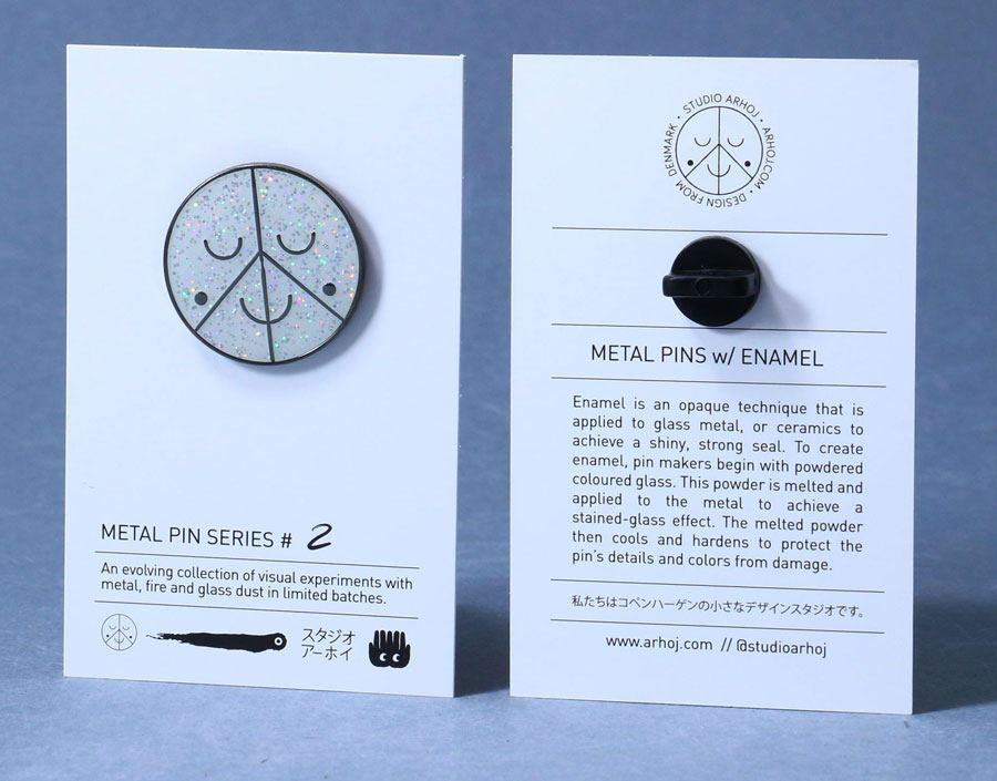 Metal Pin Holographic Logo (Serie #2)