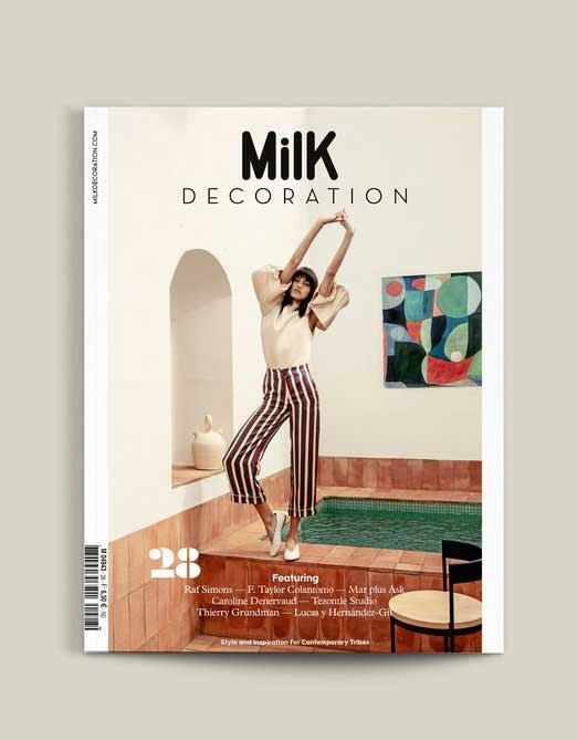 Milk Decoration No. 28