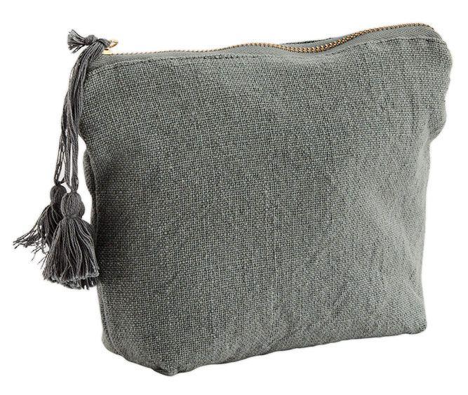 Baumwolltasche Tassel Steel Grey