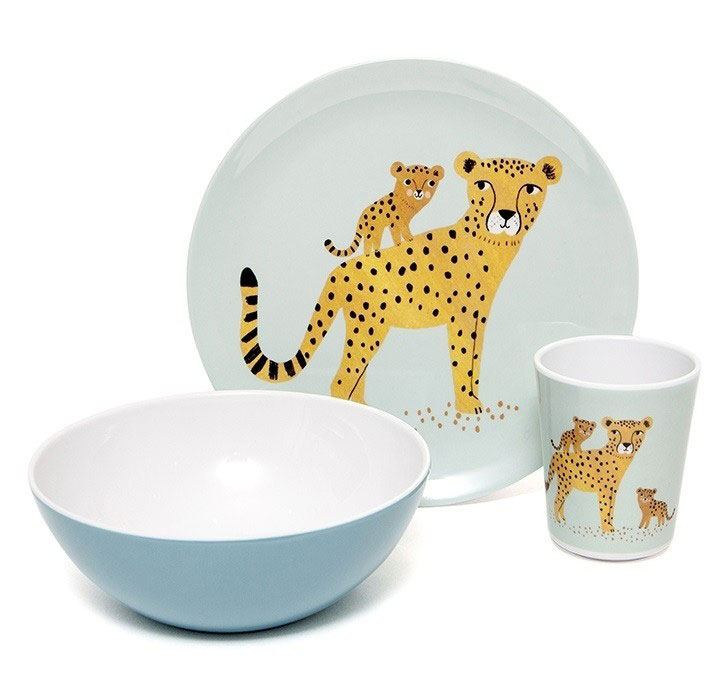 Leopard Denim Schüssel