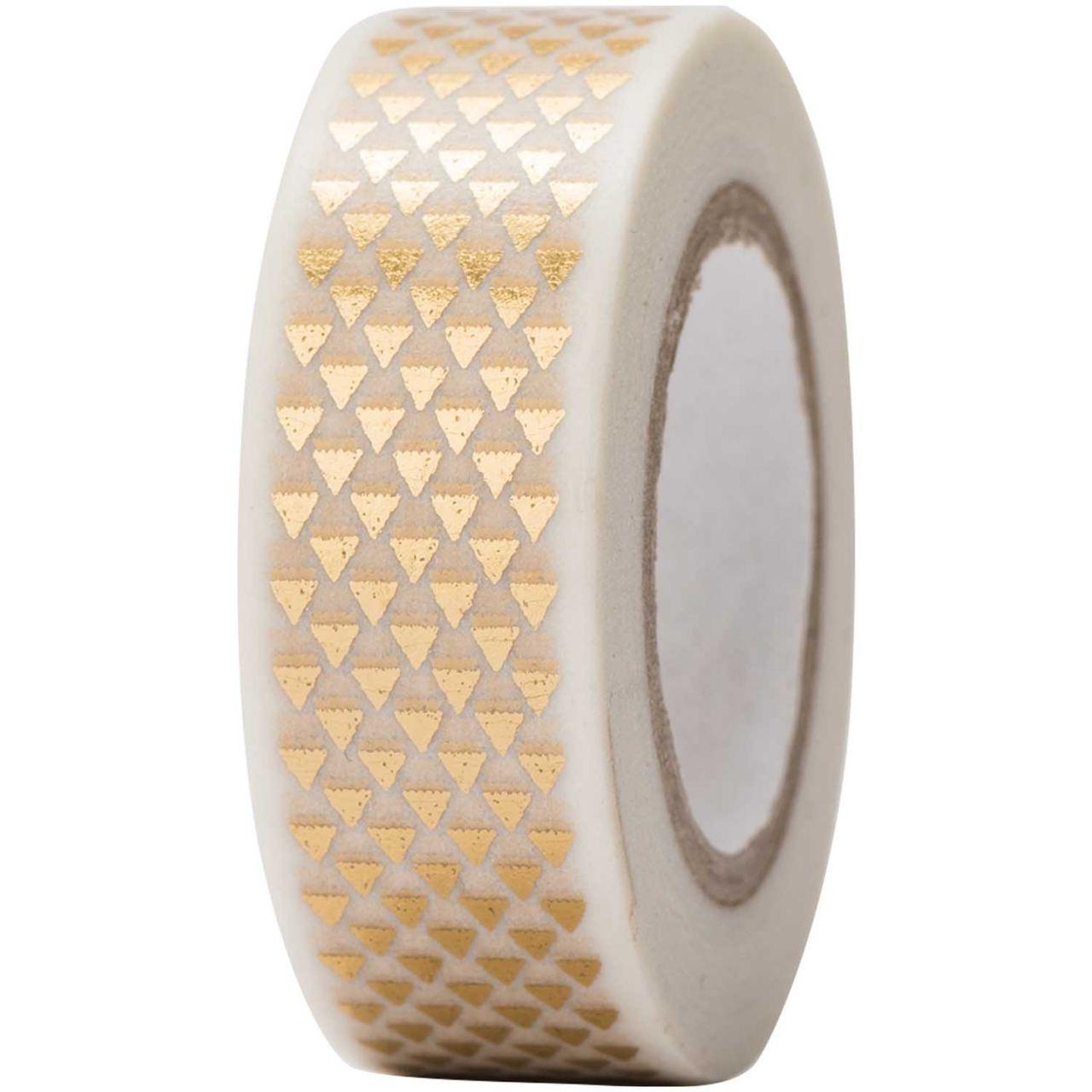 Tape Dreiecke Gold
