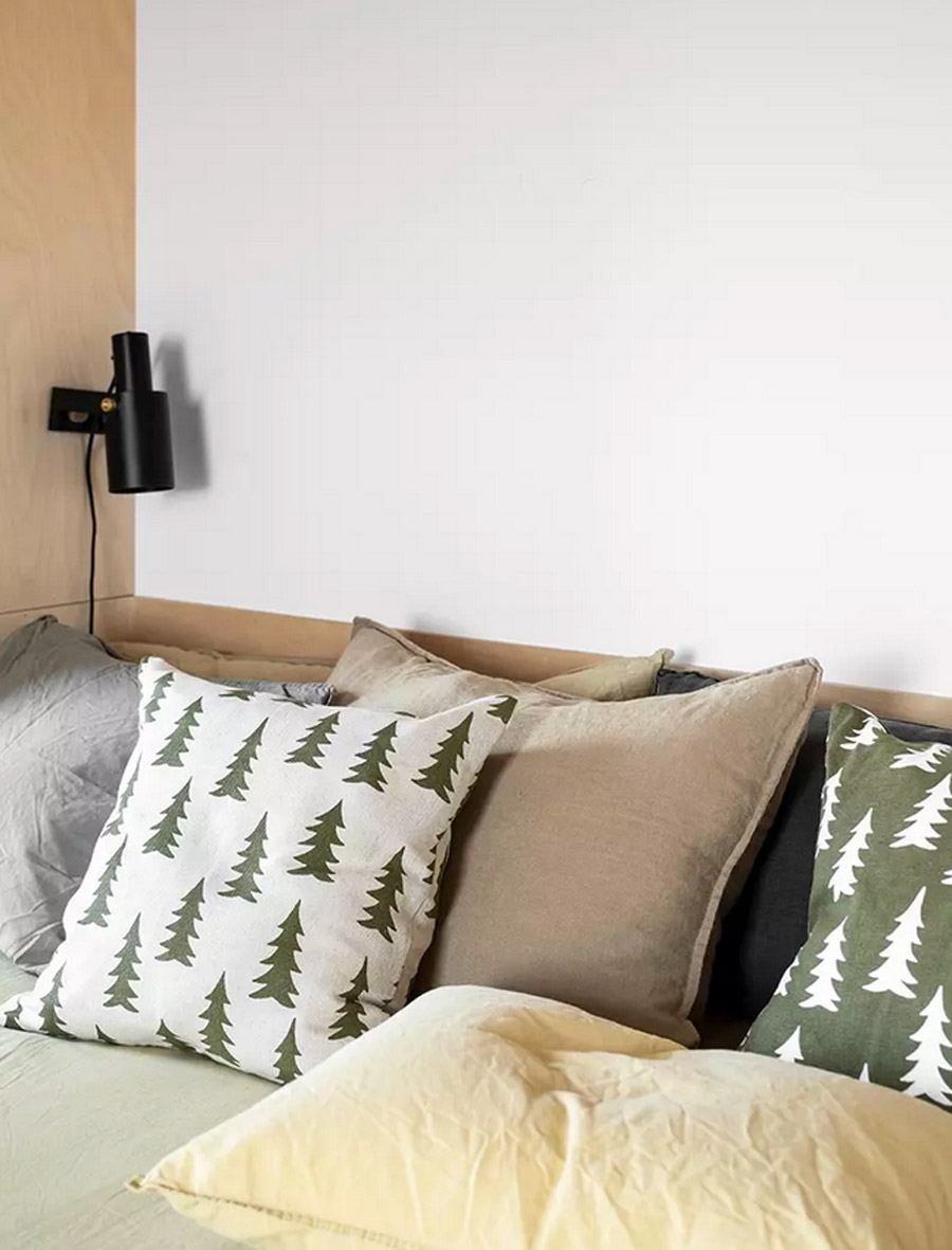 Kissen Gran Olive (50x50cm)