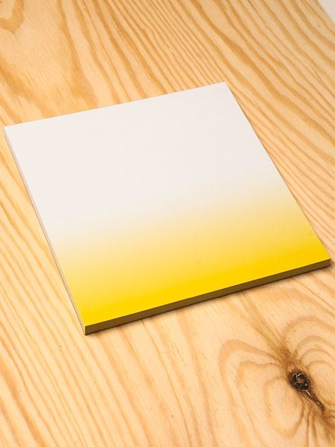 Dip Dye Yellow Block