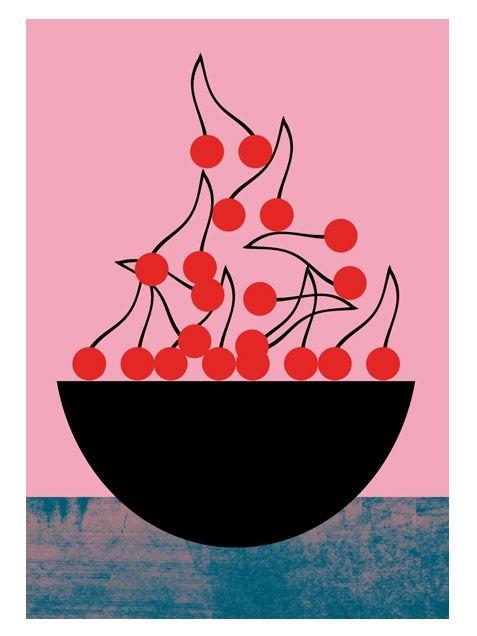 Cherry Poster (50 x 70 cm)