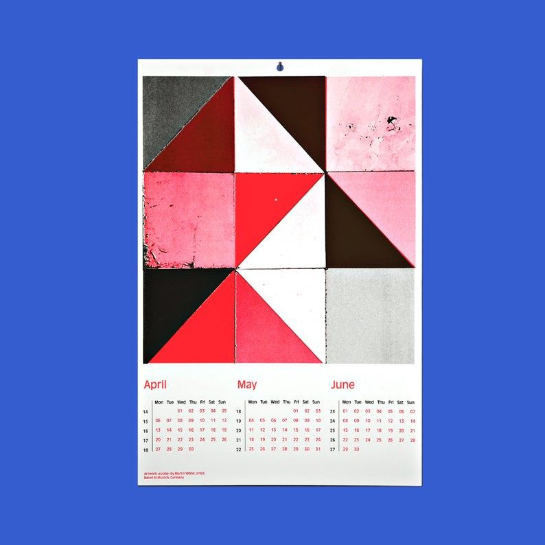 Quartals-Kalender 2020 - Everyday Ornaments