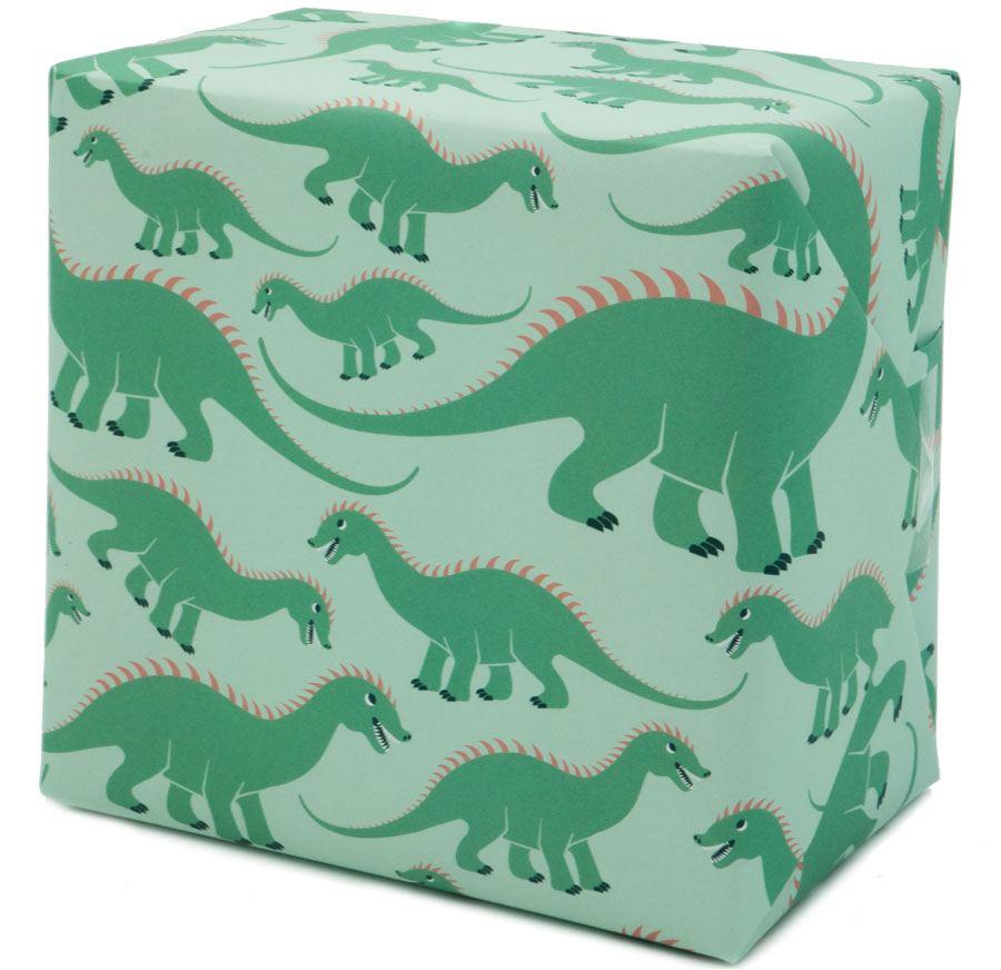 Dinosaurier Geschenkpapier