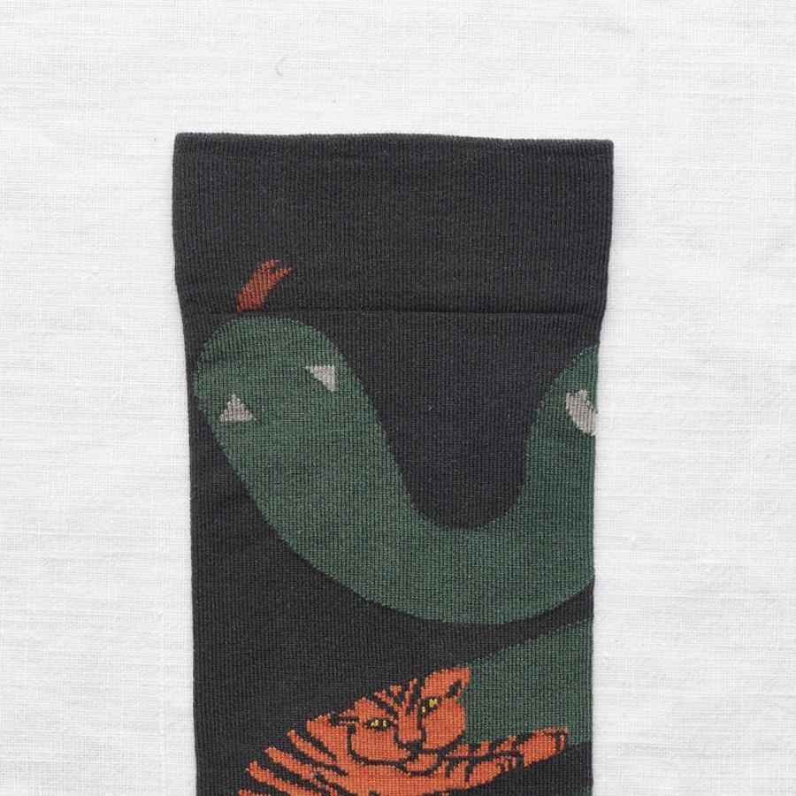 Socks Dark Snake