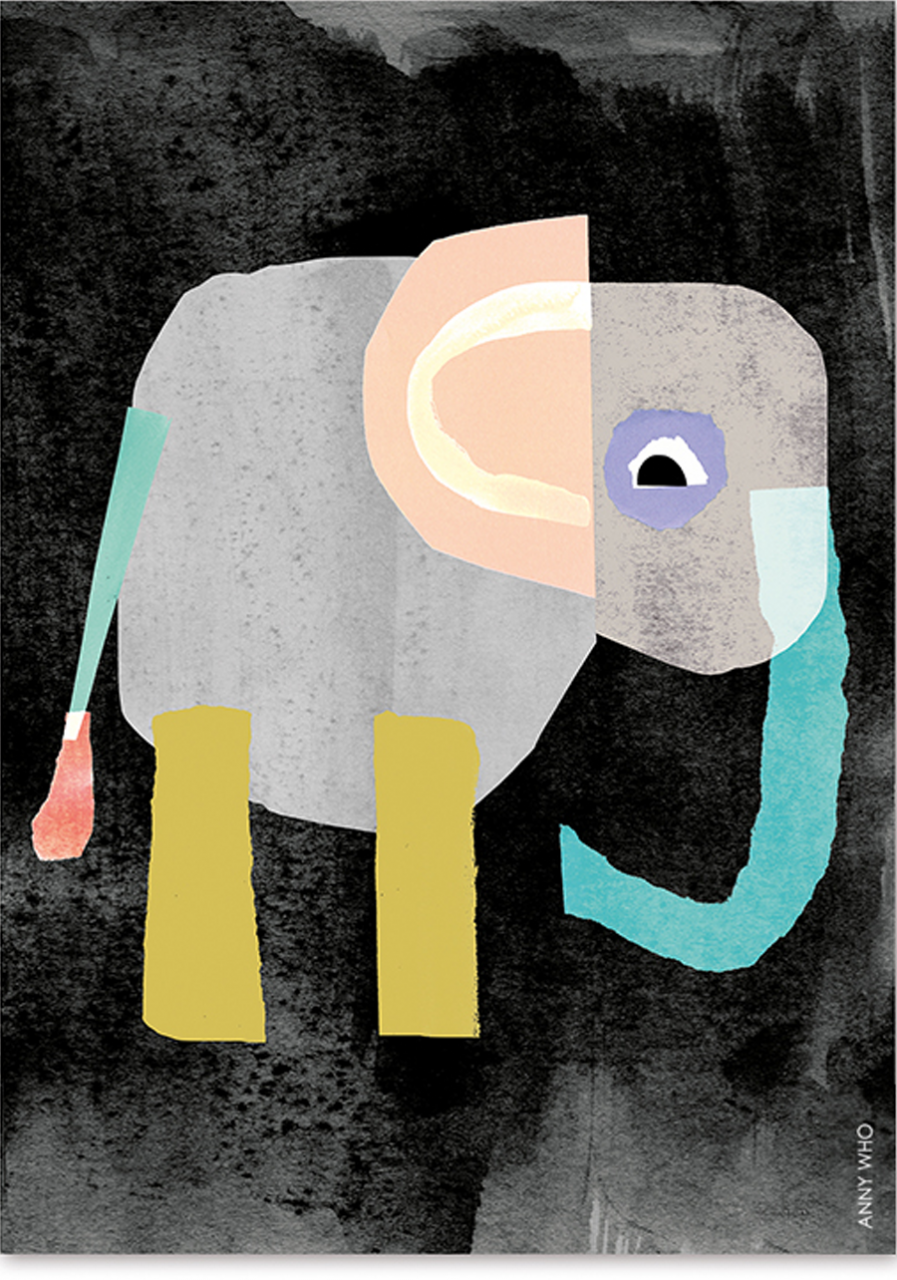 Elephant Poster (DIN A2)
