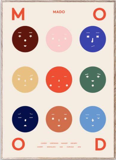 Nine Moods Poster (50x70cm)