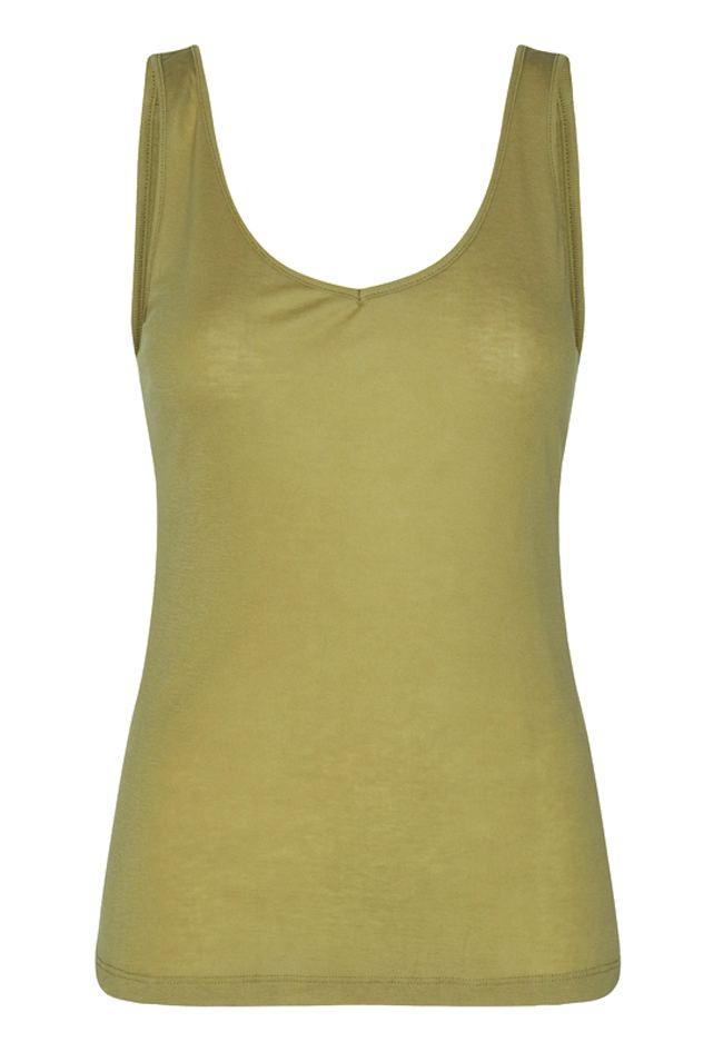 Caysa Top Khaki Green