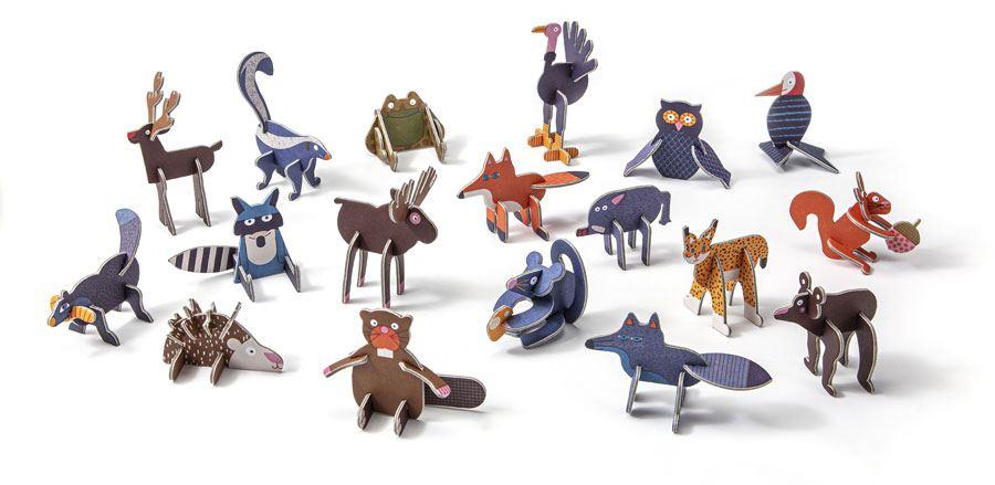 ToyChoc Box Woodland Animals