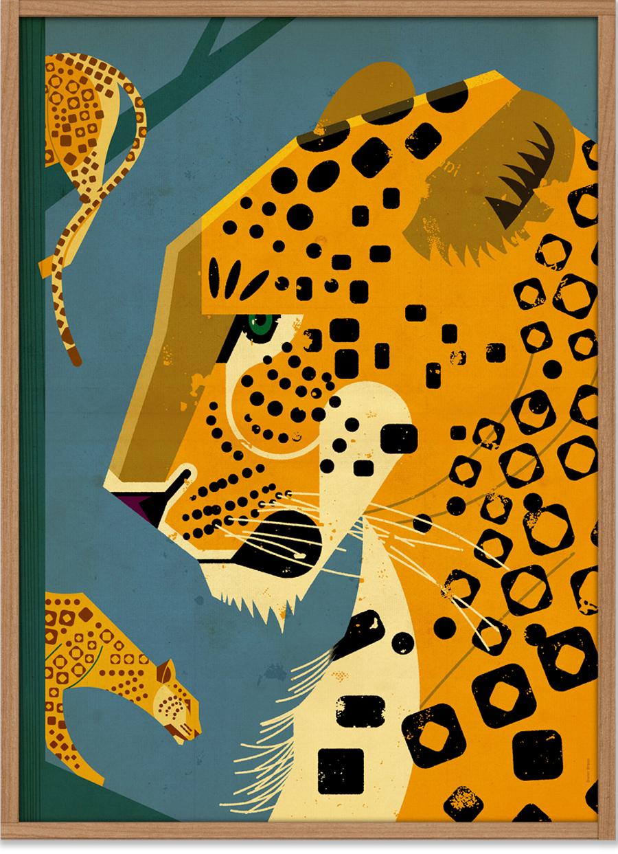 Leopard Poster (50x70cm)
