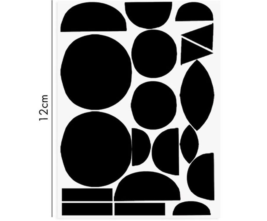Porzellansticker Geometric