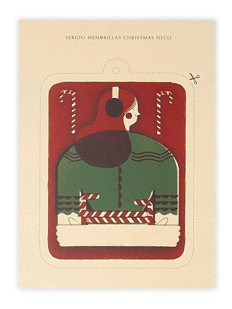 Weihnachtsdeko Wintergirl