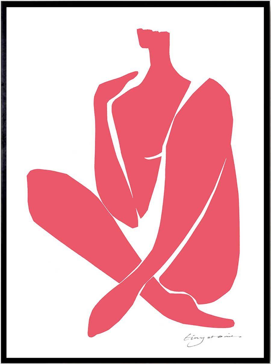 Pink Intimacy Poster (50 x 70cm)