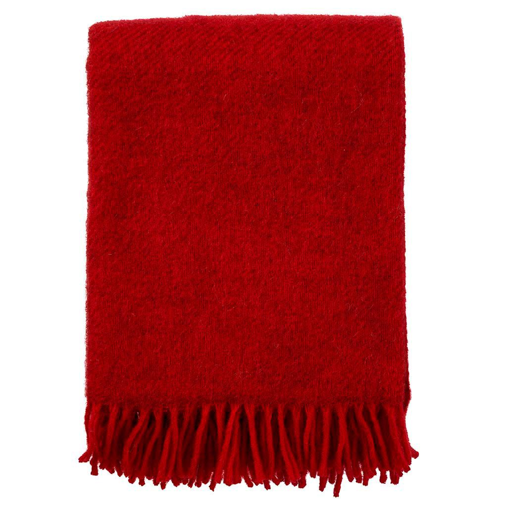 Gotland Decke Rot