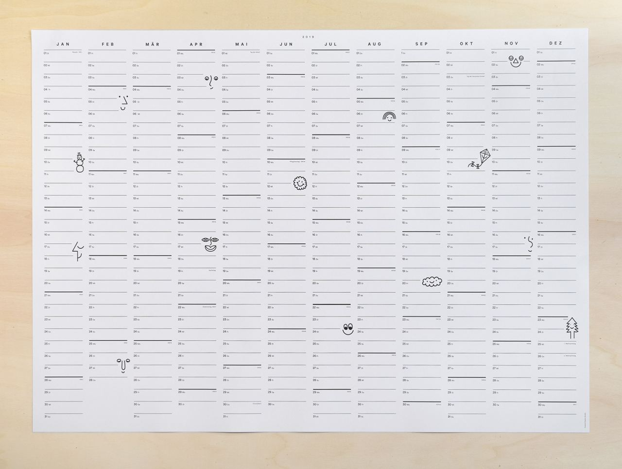 Smile Kalender 2019