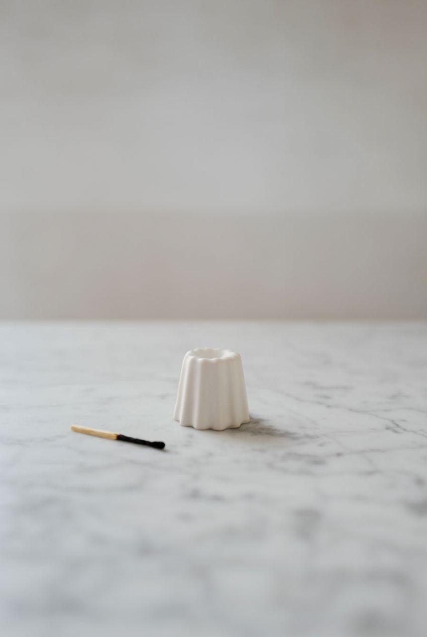 OVO Things Kerzenhalter Matte White