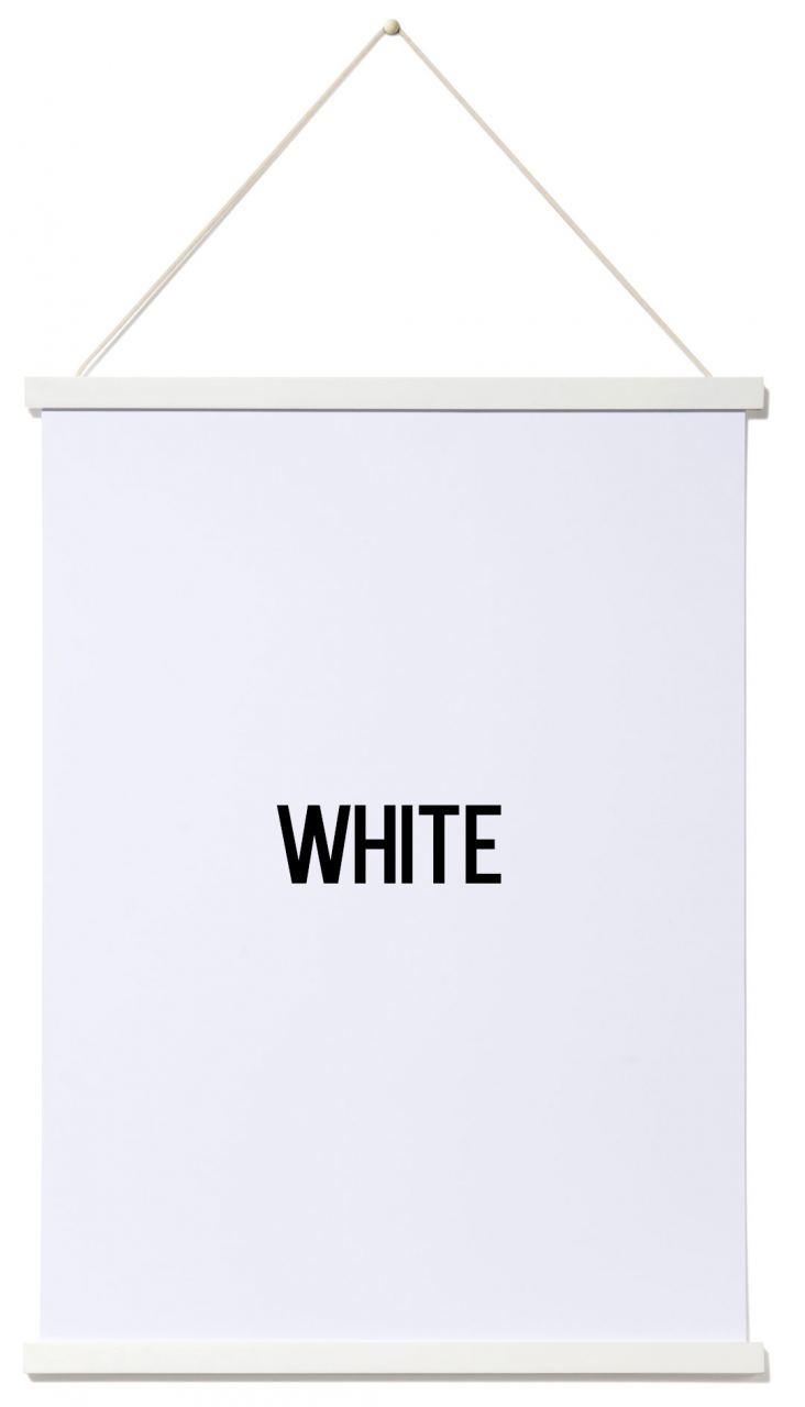 Posterleiste White