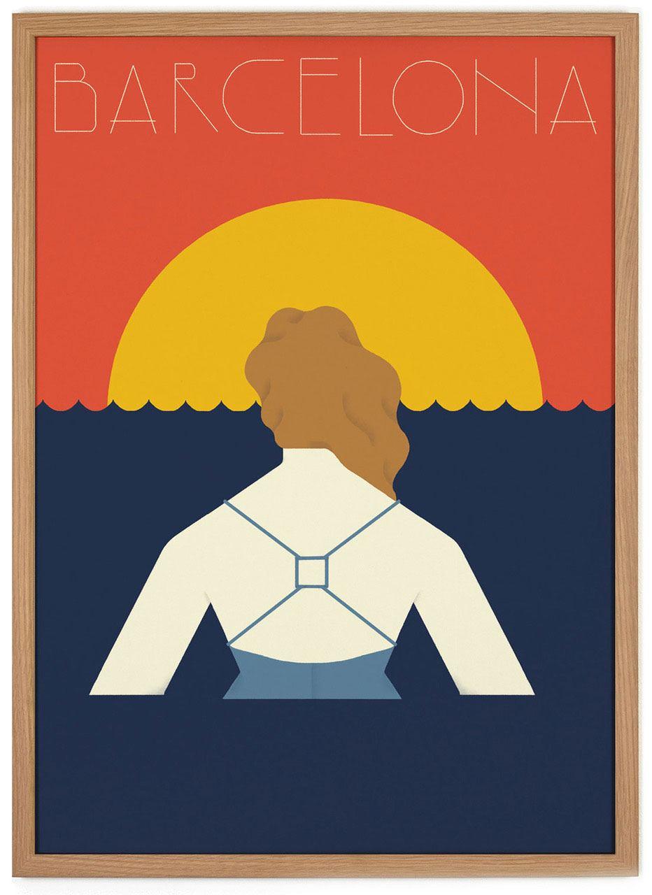 Barcelona Poster (50 x 70 cm)