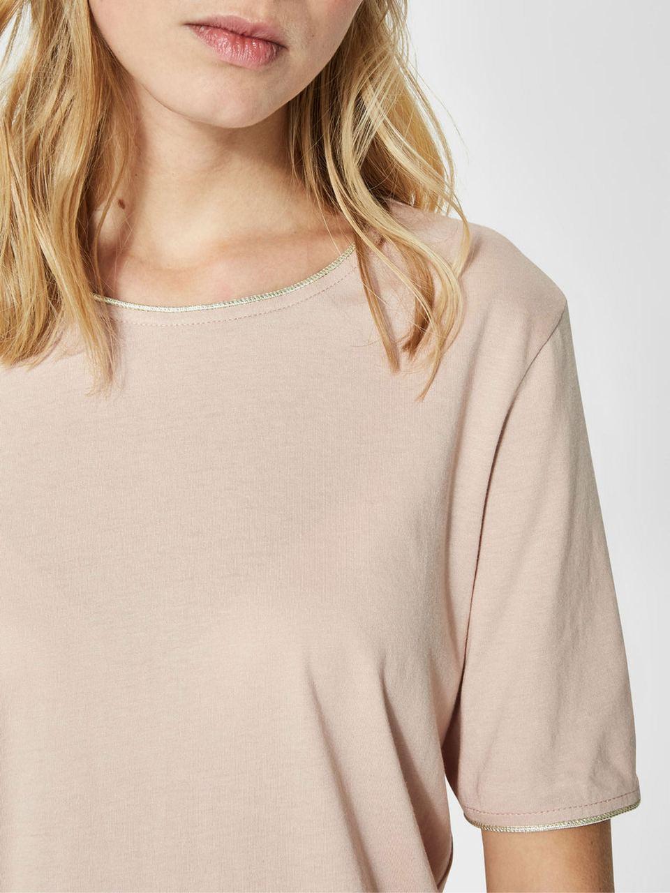 SLFLUCY T-Shirt Shadow Gray