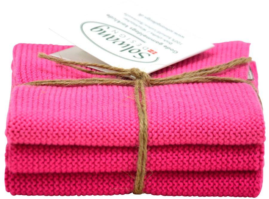 Solwang Wischtuch Pink Kombi