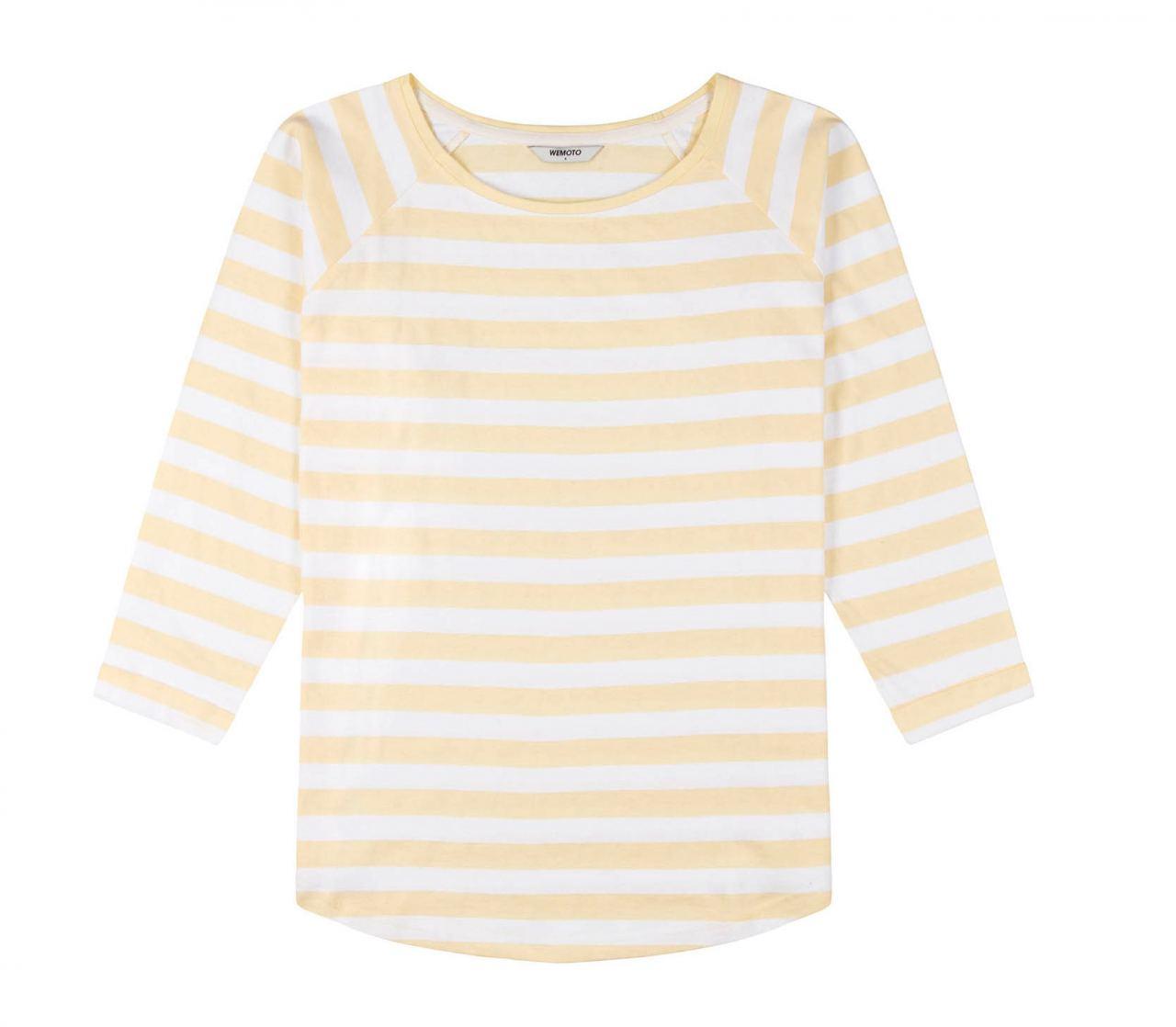 Shane Striped Shirt Tender Yellow White