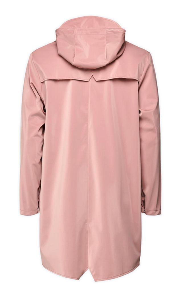 Rains Long Jacket Blush