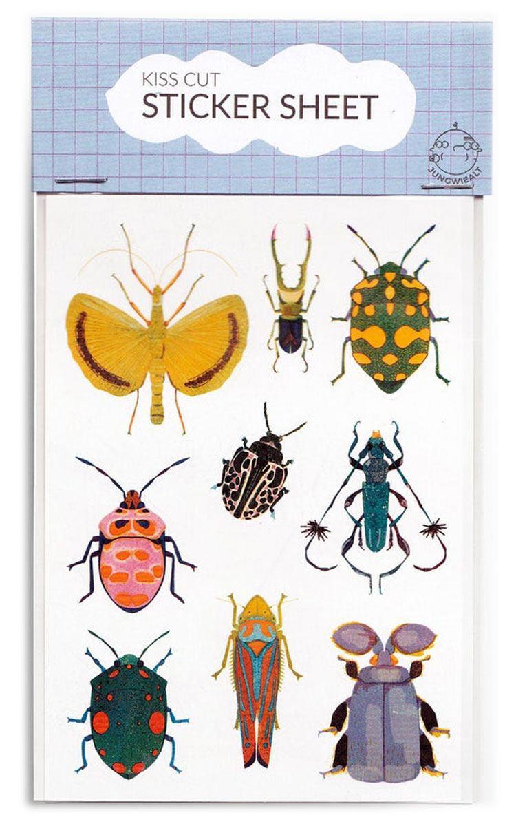 Kiss Cut Bugs Sticker Set