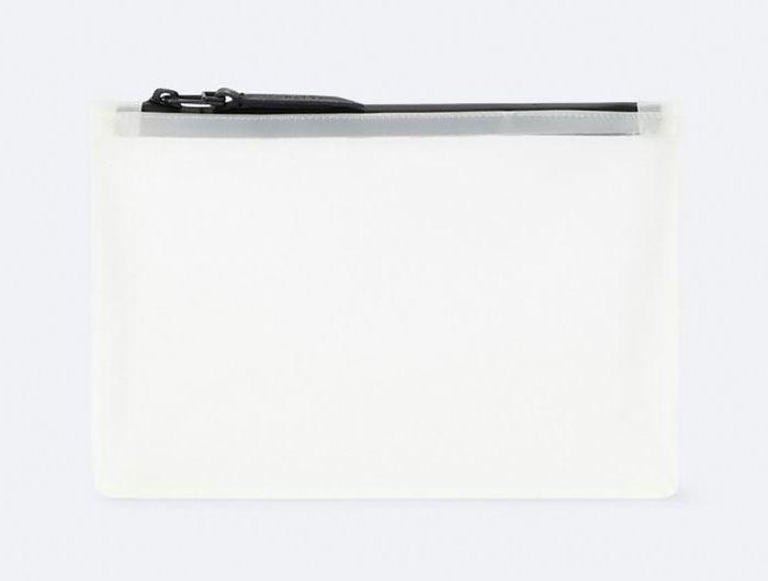 Cosmetic Bag Foggy White