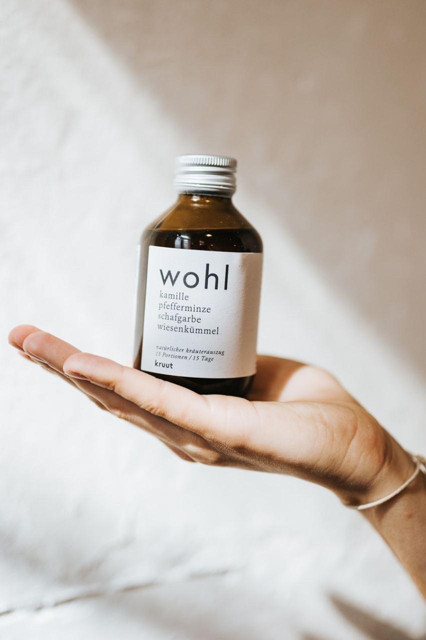 Wohl - Deine tägliche Dosis Wildkräuter (150ml)