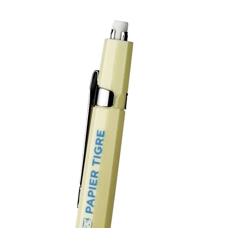 Papier Tigre Druckbleistift Gelb Hellblau