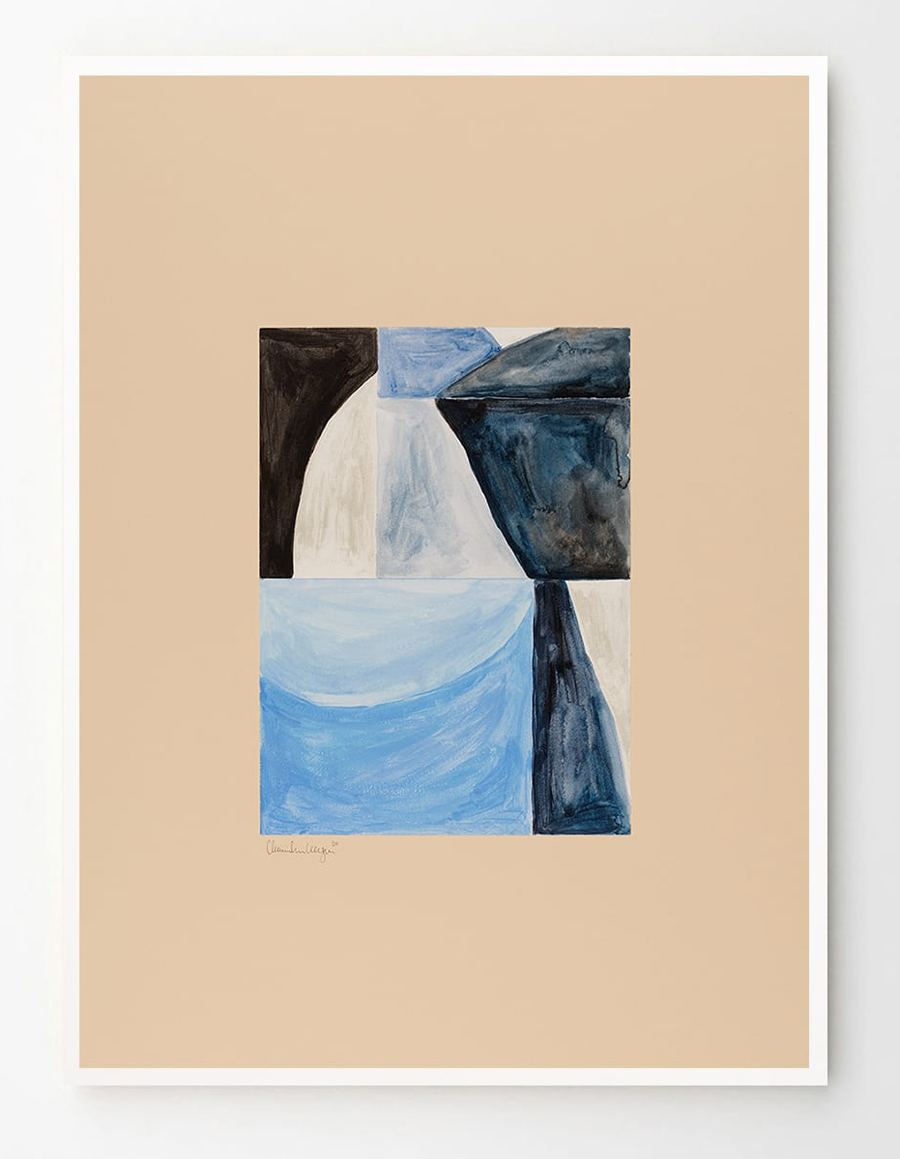 Shapes 02 Poster (50x70cm)