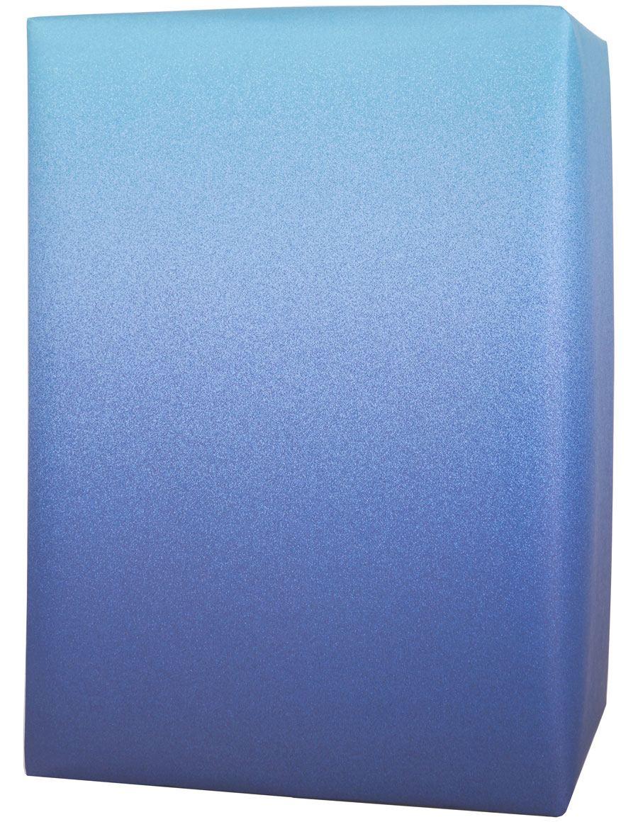Verlauf Blau Hellblau Geschenkpapier