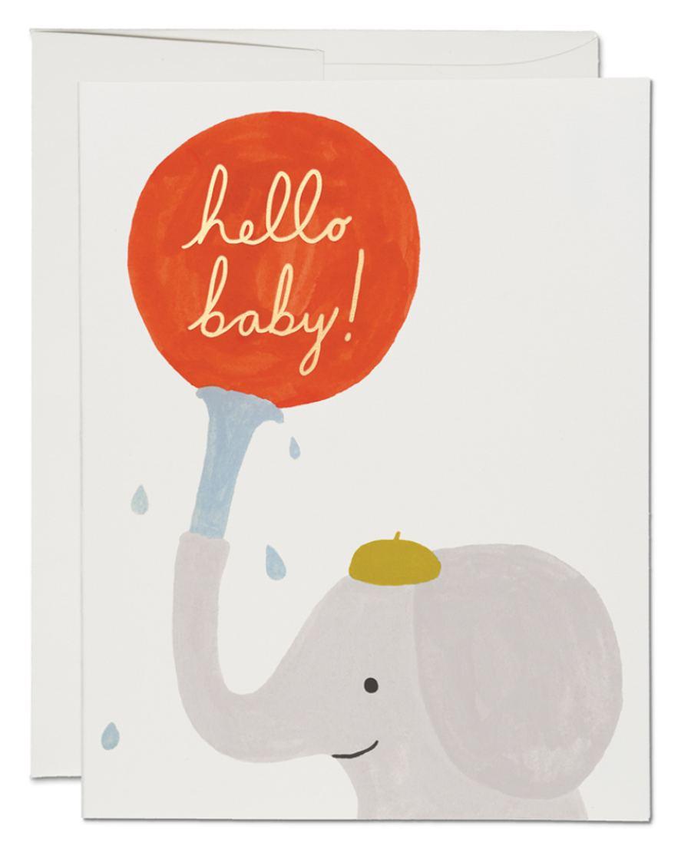 Little Elephant Klappkarte