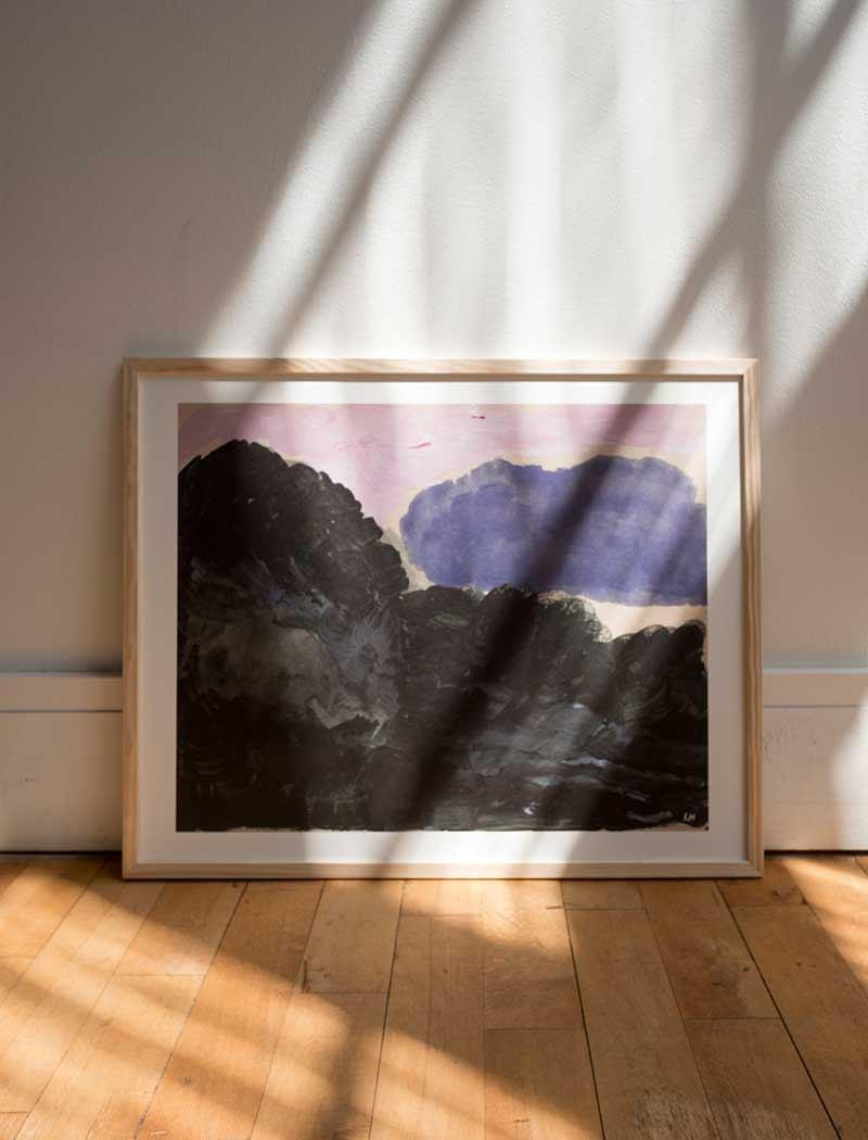 Cloud Poster (50 x 40 cm)