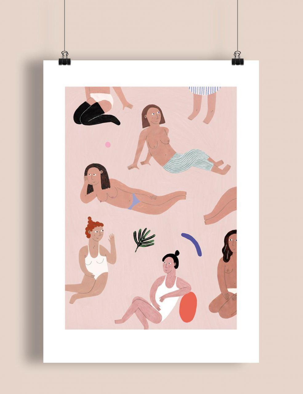 Girls Print (Din A3)