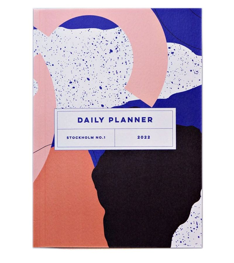 Stockholm No.1 2022 Daily Planner Book