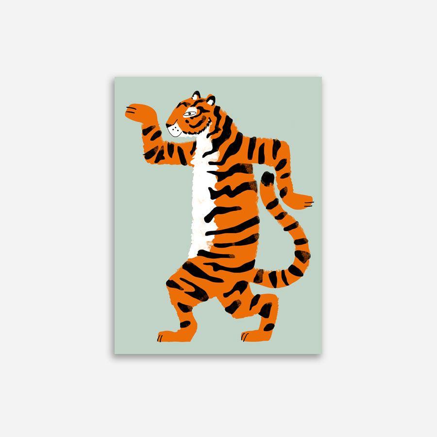 Aristide le tigre Poster (30 x 40cm)