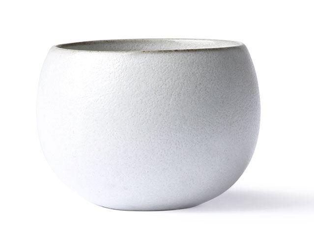 Kyoto Ceramics: Ball Mug White