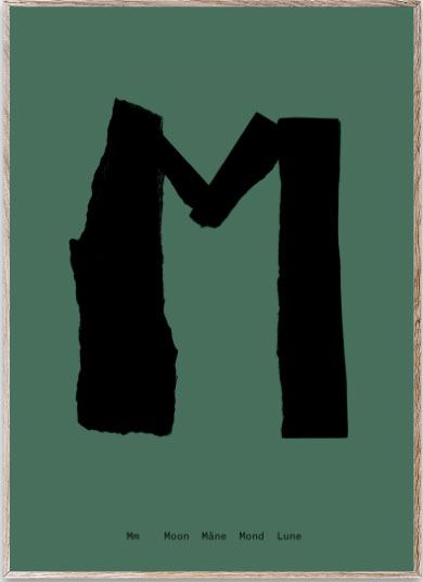 Mado Alphabet M Poster (30 x 40cm)