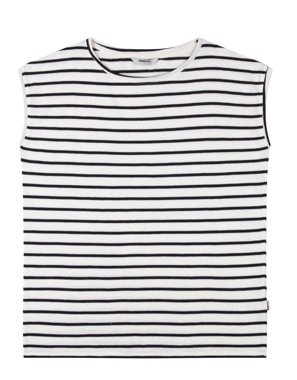 Solo Striped Shirt Black Off White