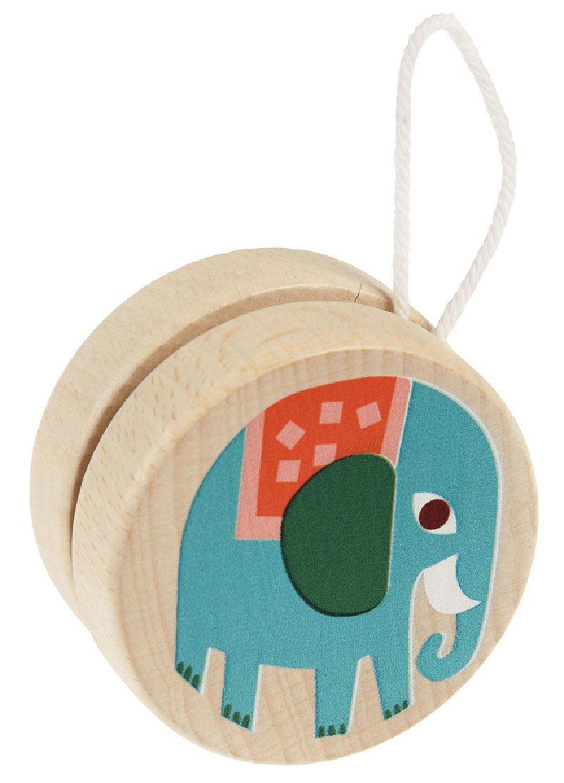 Holz-Jojo Elefant