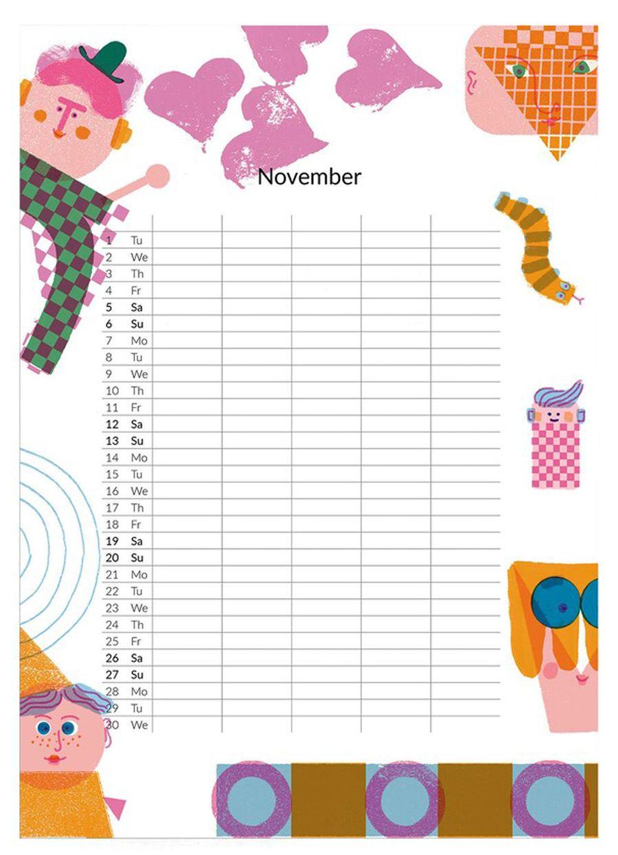 2022 Family Calendar
